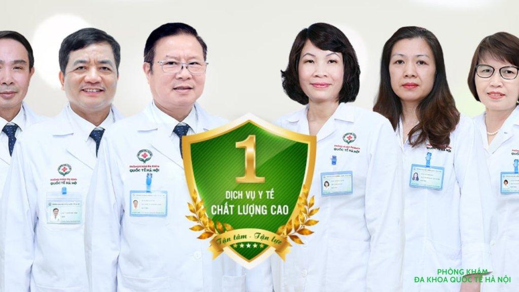 PHÒNG KHÁM ĐA KHOA QUỐC TẾ HÀ NỘI - cover