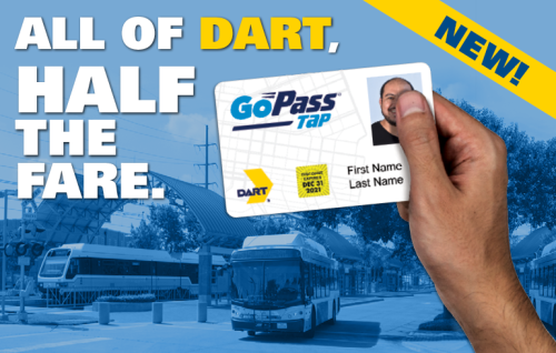 DART Discount GoPass Tap Card Supports Riders in Need