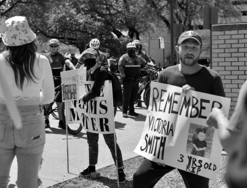 Fort Worth White Lives Matter Rally was A Dud