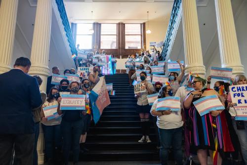 "White House Calls Texas' Bill Targeting Transgender Student Athletes ""Hateful"""