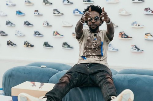 Popcaan Doesn't Like Yeezys But Levels Up His 'Kick Game' After UK Shopping Spree