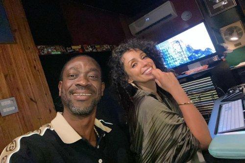 Bounty Killer, Mya 'Cooking Up' New Music In The Studio