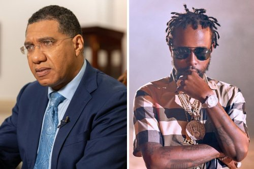Jamaican PM Makes Promises After Popcaan's Request For Investment In Dancehall
