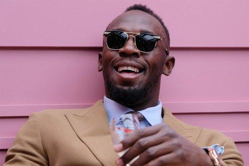 Usain Bolt Likes His Steak Medium