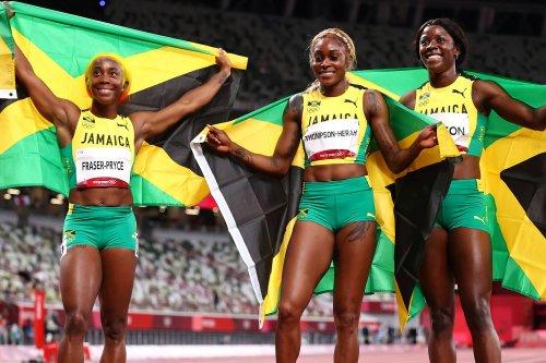 Nicki Minaj, Beenie Man Shade Sha'Carri Richardson After Jamaica's Women Sweep Olympic 100m