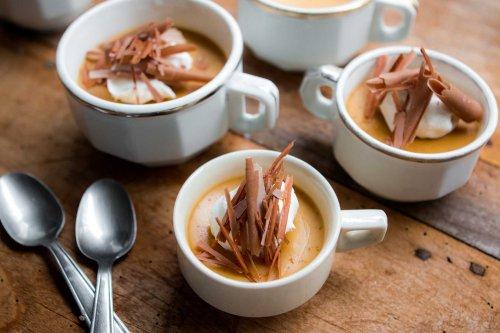 Coffee Caramel Panna Cotta
