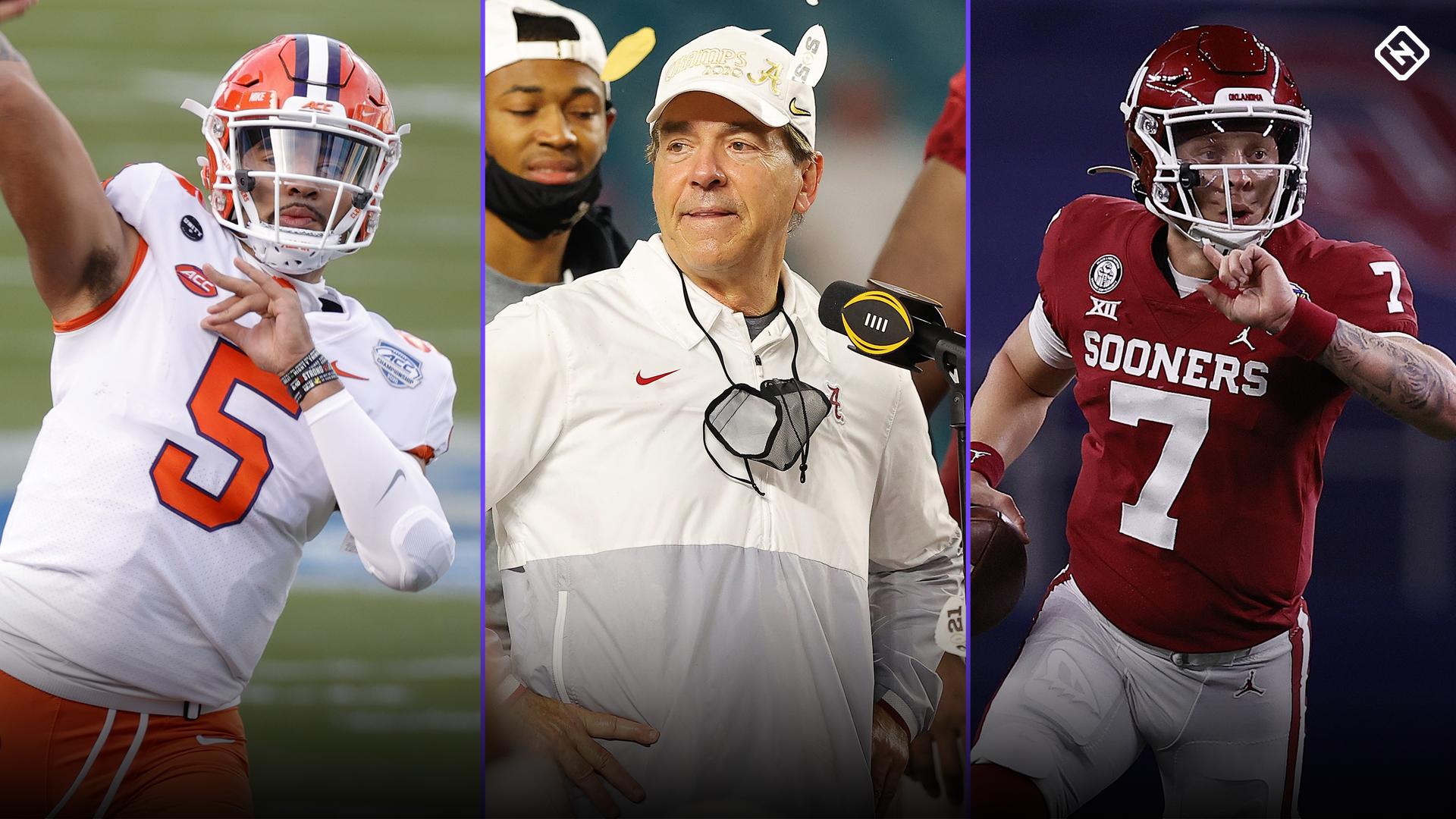 College football rankings: Alabama, Clemson, Ohio State lead Sporting News' preseason top 25