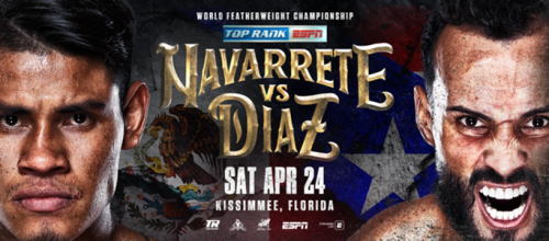 Emanuel Navarrete vs. Christopher Diaz: Featherweight Boxing