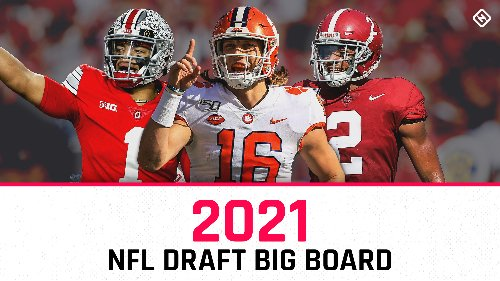 NFL Draft prospects 2021: Big board of top 100 players overall, updated position rankings