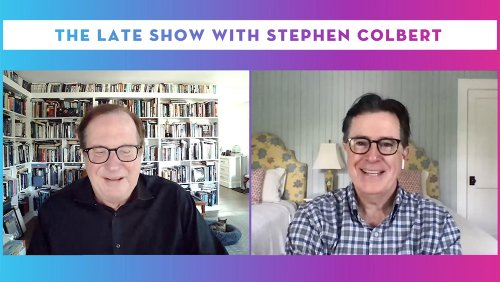 """'Late Show' Host Stephen Colbert Itching To Graduate From """"Storage Room"""" To Studio Audience – Contenders TV"""