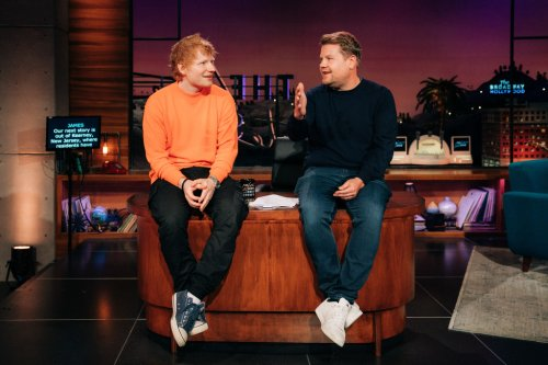 Ed Sheeran Set For Week-Long 'Late Late Show With James Corden' Residency