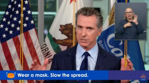 California Governor Gavin Newsom Issues Travel Advisory, Urges Quarantines As State Passes 1 Million Coronavirus Cases