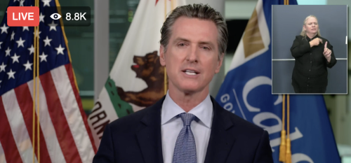 California Governor Gavin Newsom Orders Majority Of State's Schools To Close Campuses, Move To Virtual Instruction Only; Los Angeles County Will Follow Newsom's Lead