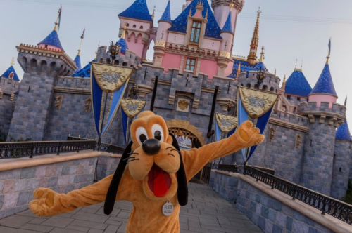 As California Reopens, Disneyland Sees Massive, Mostly Maskless And Non-Socially Distanced Crowds
