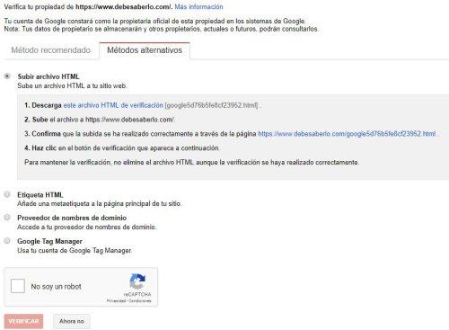Como indexar mi web en Google enviando la URL