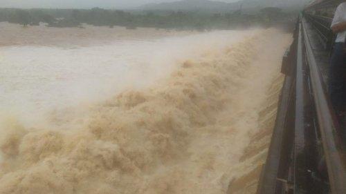 Over 80,000 cusecs of water released from Tunga dam in Shivamogga