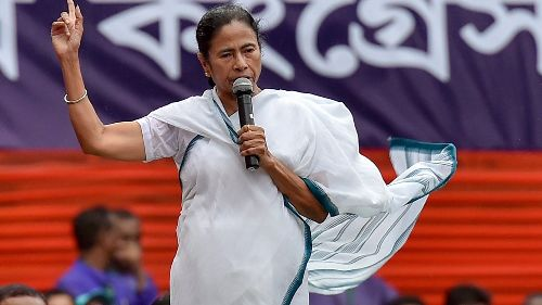 BJP hired goons to threaten voters, claims Mamata Banerjee