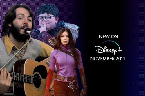 New on Disney+ November 2021