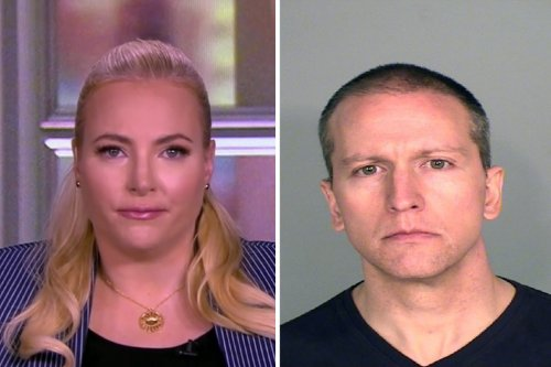 """Meghan McCain to Derek Chauvin: """"Rot in Hell"""""""