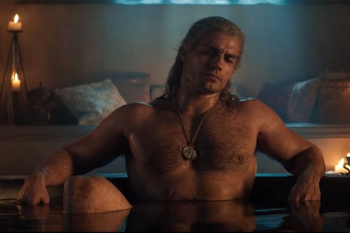 New 'Witcher' Season 2 First Look Teases Henry Cavill's Geralt in a Tub (Again)