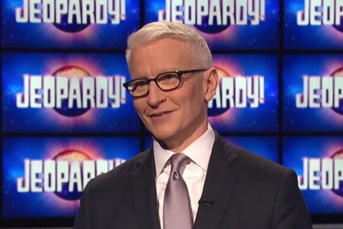 "'Jeopardy' Fans Praise Anderson Cooper as ""A Natural"" After Hosting Debut"