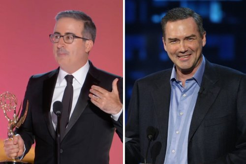 """John Oliver Pays Tribute to Norm Macdonald During Emmys Win: """"No One Was Funnier"""""""
