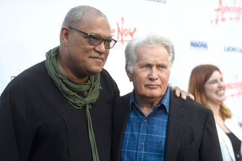 Laurence Fishburne Saved Emilio Estevez's Life on the 'Apocalypse Now' Set, Says Martin Sheen