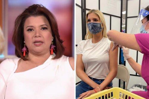 "'The View': Ana Navarro Begrudgingly Praises ""Nepotism Barbie"" Ivanka Trump for Vaccine Photo"