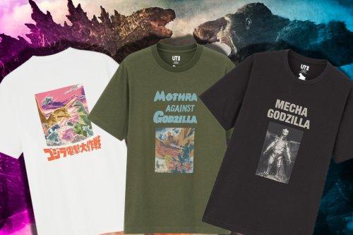 Nab These 'Godzilla vs. Kong' Limited Edition T-Shirts From Uniqlo's Godzilla's World Collection