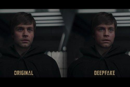 "Deepfake Artist Who ""Fixed"" Luke Skywalker on 'The Mandalorian' Hired by Lucasfilm"