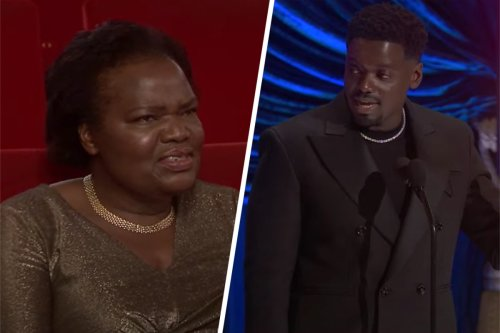 "Daniel Kaluuya's Mom Reacting to His ""They Had Sex"" Oscars Speech Is Priceless"