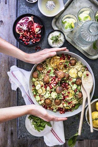 Couscous Salat mit Minze - Dee's Küche