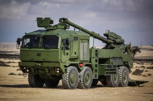 Israeli-made mobile howitzer completes U.S. Army's shoot-off evaluation