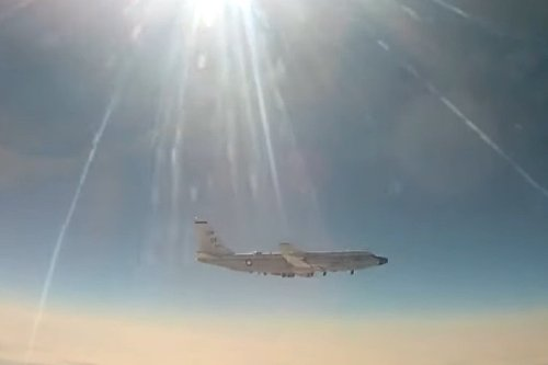 Russia scrambles fighter jet against RC-135W Rivet Joint spy plane
