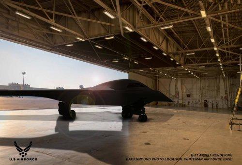 Northrop Grumman now has five B-21 stealth bombers in production