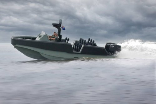 Australian small boat with US comms package in testing for Marine Corps urgent need