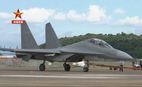 China to show off its new electronic-attack jet