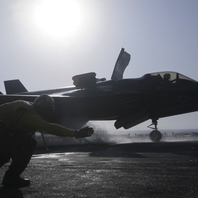 The Air & Space Brief: F-35 production, post-COVID; Air Force One, late; Over the Horizon, explained...