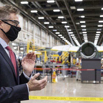 Exclusive Interview: Lockheed's CEO Wants His Company to Connect All the Pentagon's Weapons