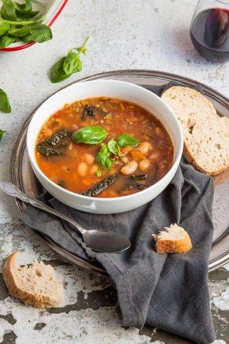 Tuscan Bean Soup {vegan + gluten free}