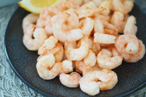 Air Fryer Frozen Shrimp (Keto/Low Carb)