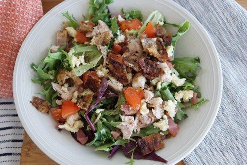 Keto Chicken & Bacon Salad