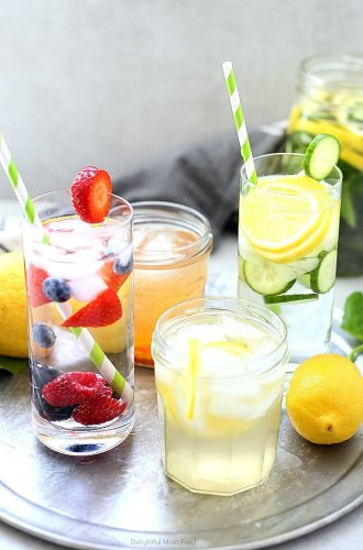 4 Detox Water Recipes For Weight Loss & Body Cleanse
