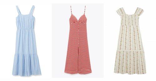 10 vestidos por menos de 30 euros que te solucionarán tus looks veraniegos
