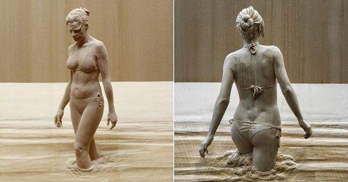 Ce sculpteur sur bois impressionne avec des oeuvres très réalistes
