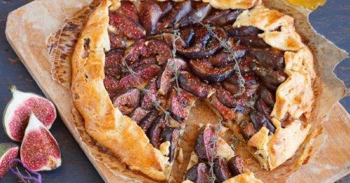 Cette tarte rustique aux figues et au romarin va bouleverser votre repas !