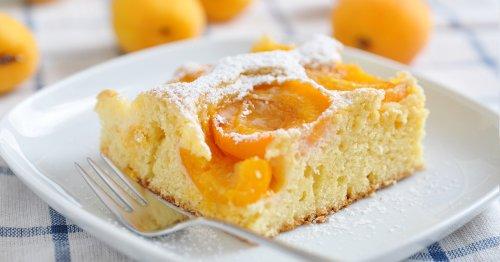 Le moelleux de ce gâteau aux abricots est comparable à un nuage !