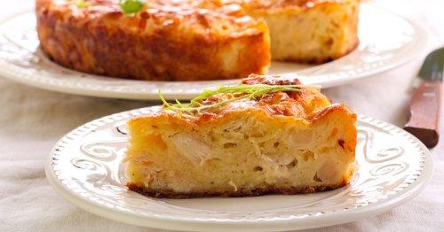 Cette quiche sans pâte au chou-fleur et au jambon est d'une simplicité déconcertante !