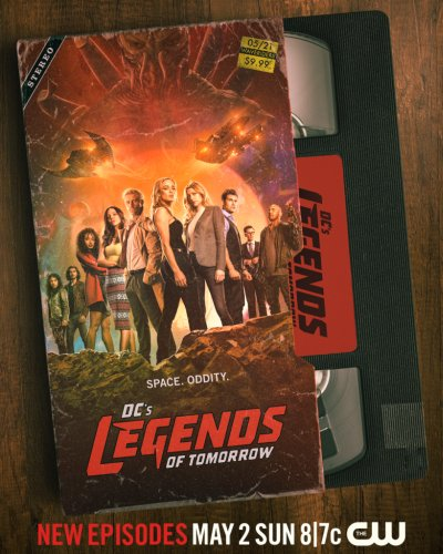 Legends of Tomorrow Season 6 Teases '80s Vibe and Aliens