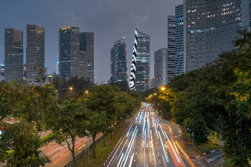 You Can Take a Virtual Taxi Ride Around Singapore on Twitch—and You Tell It Where to Go